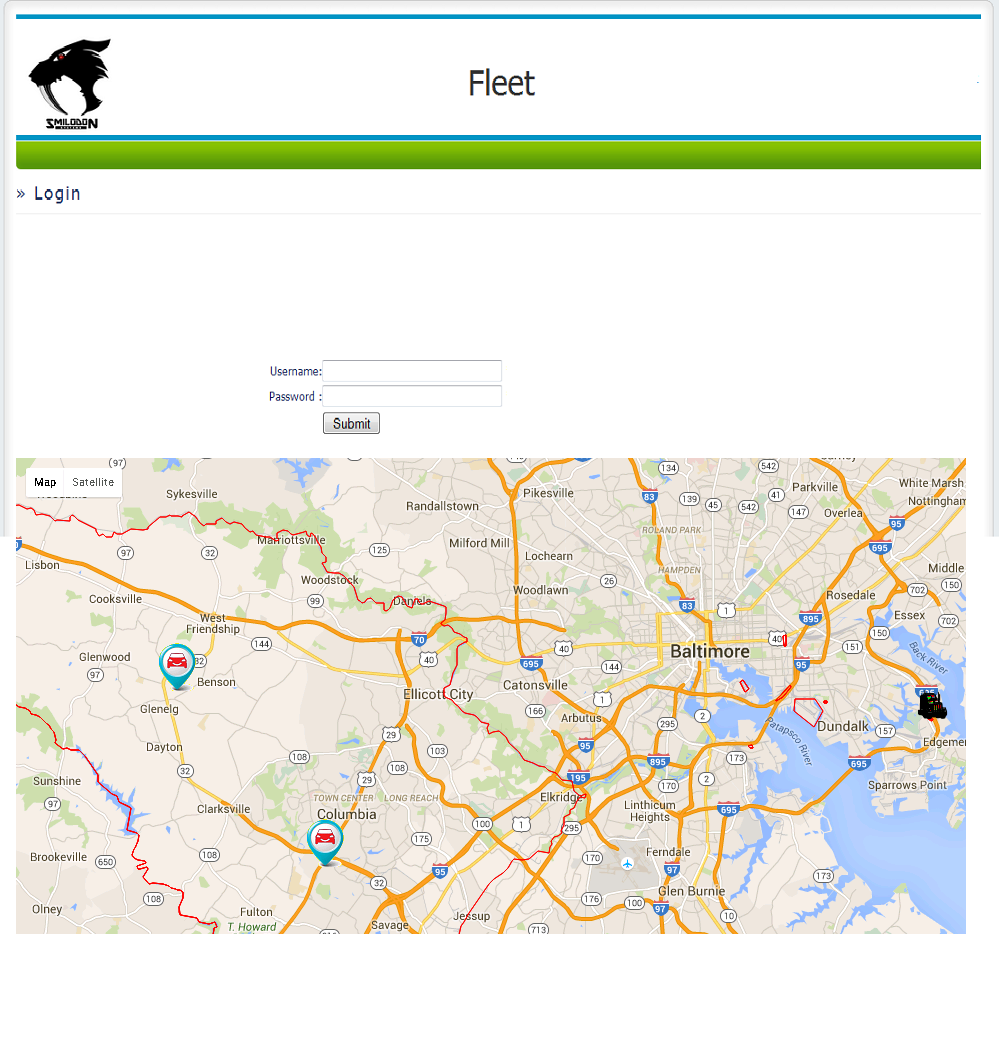 Fleet Tracking using GPS based Web Portal